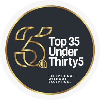 Top 35 under thirty5
